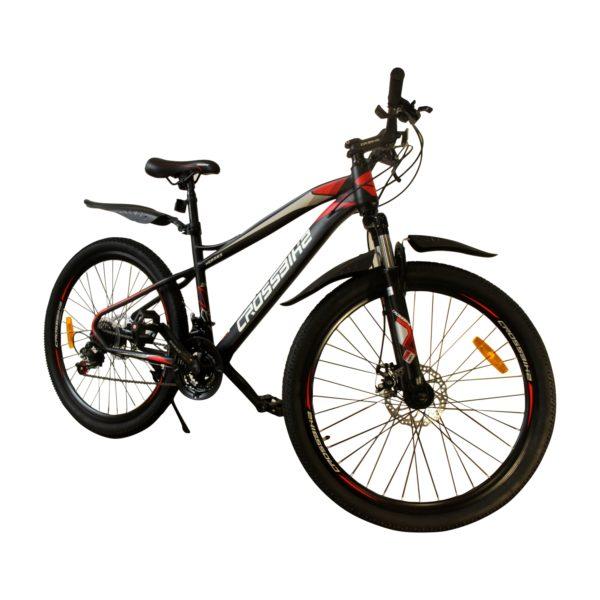 """Велосипед Crossbike Hermes 26"""" черный-красный"""