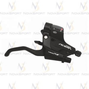 Шифтер/тормозная ручка Shimano Acera 3/9ск черный ST-M390 ESTM390PTAL