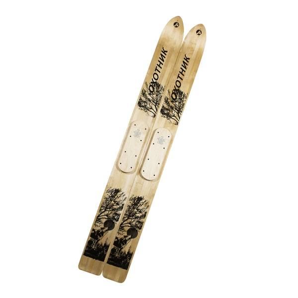 Лыжи Охотник деревянные (ширина 15 см)