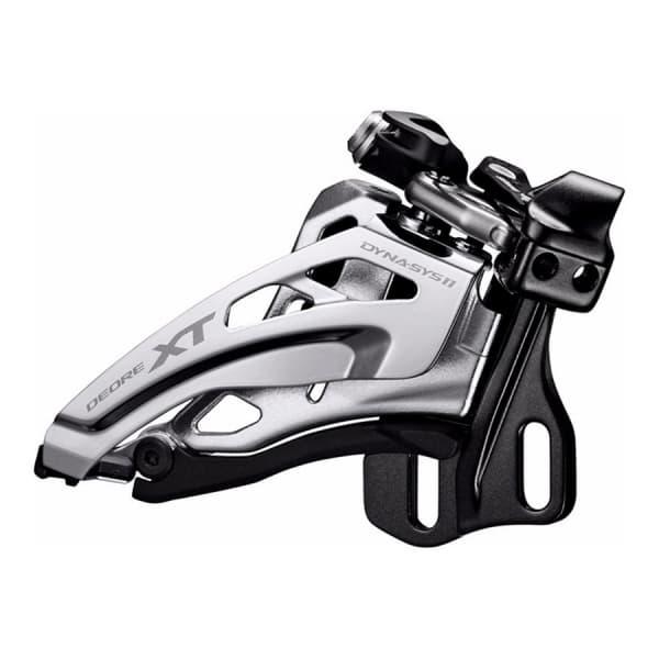 Переключатель передний Shimano XT M8000E тип без BB пластины для 3X11 верхняя тяга IFDM8000E6X