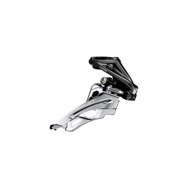 Переключатель передний Shimano XT M8000H для 3x11 верхний  хомут side-swing верхняя тяга IFDM8000HX6