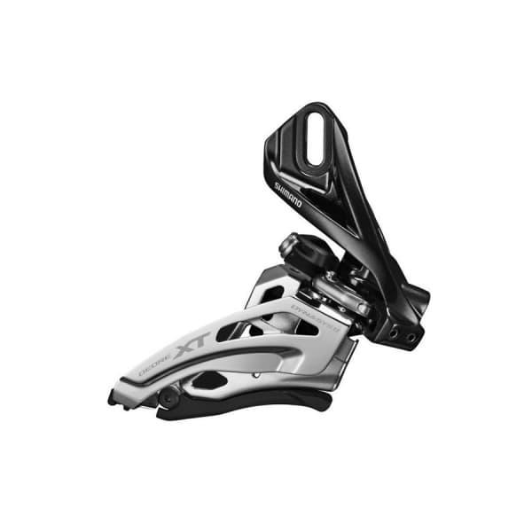 Переключатель передний Shimano XT M8020D direct mount side-swing для 2X11 верхняя тяга IFDM8020D6