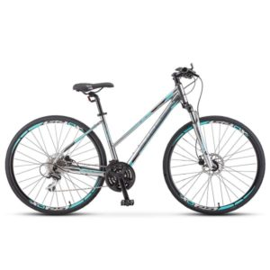 Велосипед Stels Cross-150 D Lady 28' V010 Хром (LU092745)