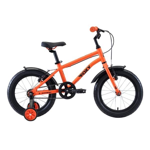 Велосипед Stark'20 Foxy 16 Boy оранжевый/голубой/черный H000016492
