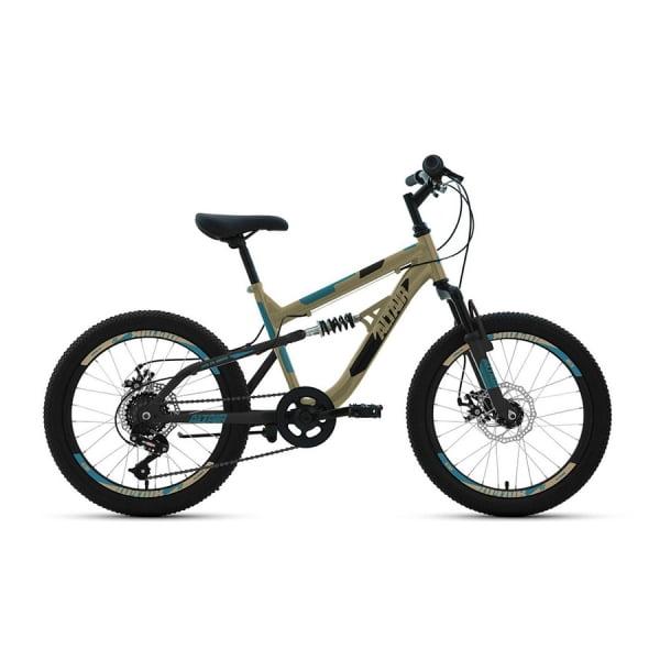 Велосипед 20' Altair MTB FS 20 disc 6 ск 19-20 г