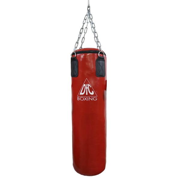 Боксёрский мешок DFC HBPV2.1 красн ( 100*30,30 ПВХ красный)