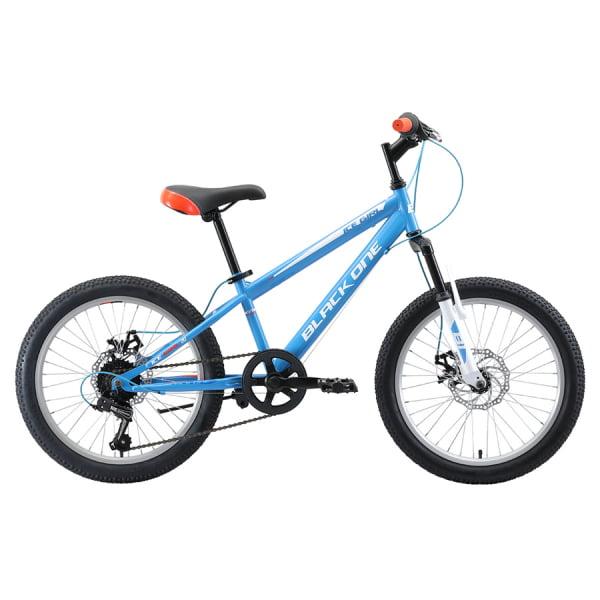 Велосипед Black One Ice Girl 20 D голубой/белый/оранжевый (H000014291)