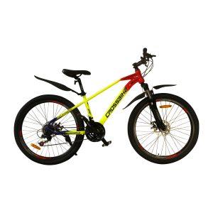crossbike rainbow 26 желто красно синий