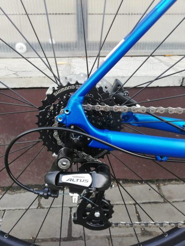 Superior XC 819 Matte Dark Blue/Neon Blue 2020