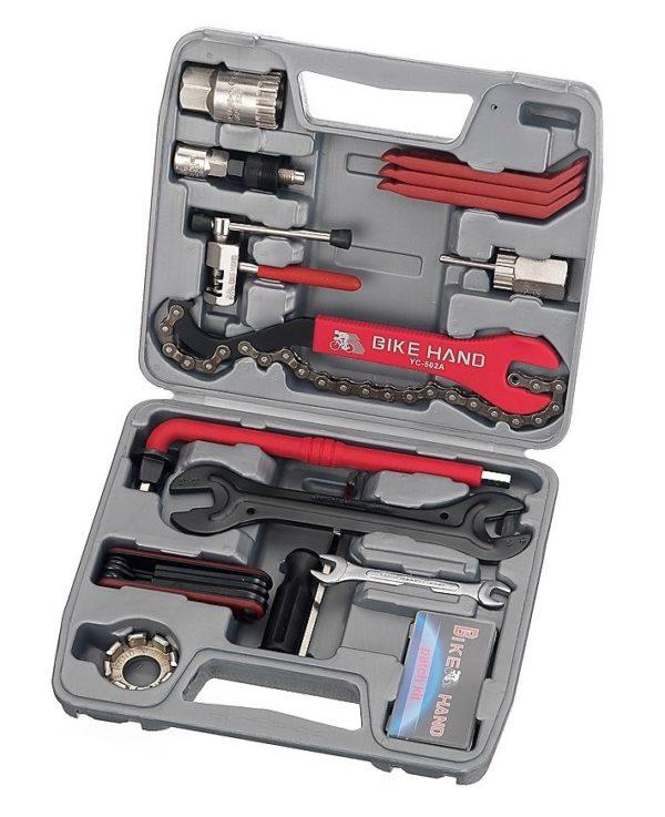 Набор инструментов 13 предметов в кейсе Bike Hand YC-737