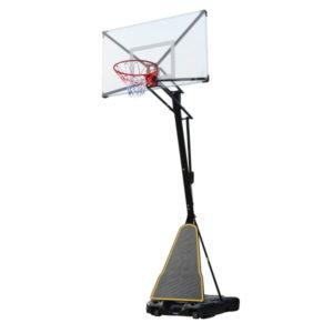Баскетбольная мобильная стойка DFC STAND54T 136x80см поликарбонат