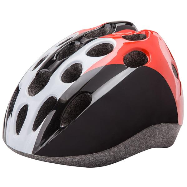 Шлем защитный HB5-3_b (out mold) черно-бело-красный/600112