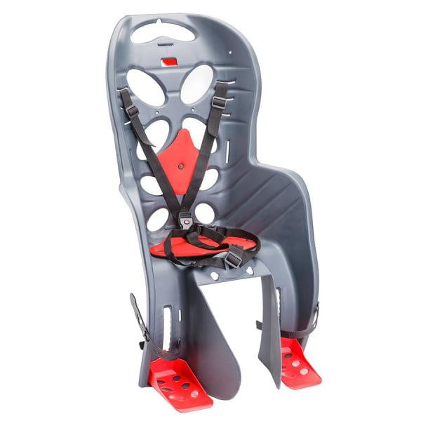 Велокресло детское FRAACH C крепл.на багажник, темно-серое/280040