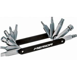 Набор инструментов 'ножик' Merida 12in1 High-end Mini Tool for tool Box 80гр.Black/Grey(2137005198)