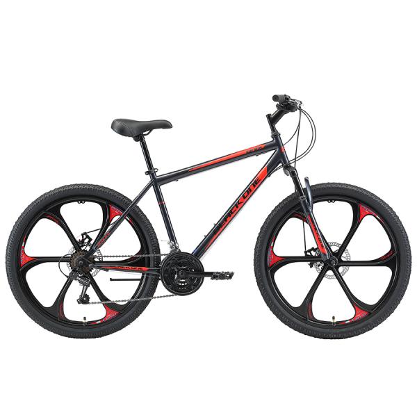Black One Onix 26 D FW серый/черный/красный 2020-2021