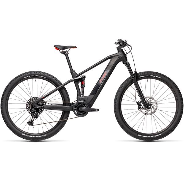 CUBE STEREO HYBRID 120 PRO 500 29 (black'n'red) 2021