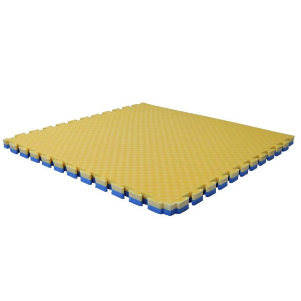 Буто-мат ППЭ-2040 (1 * 1) сине-желтый
