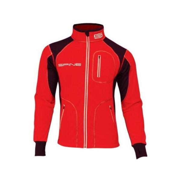Куртка разминочная SPINE WS Star черный/красный