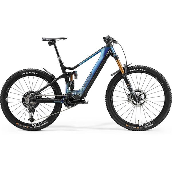 Merida eOne.Sixty 10K GlossySparklingBlue/MattBlack 2021
