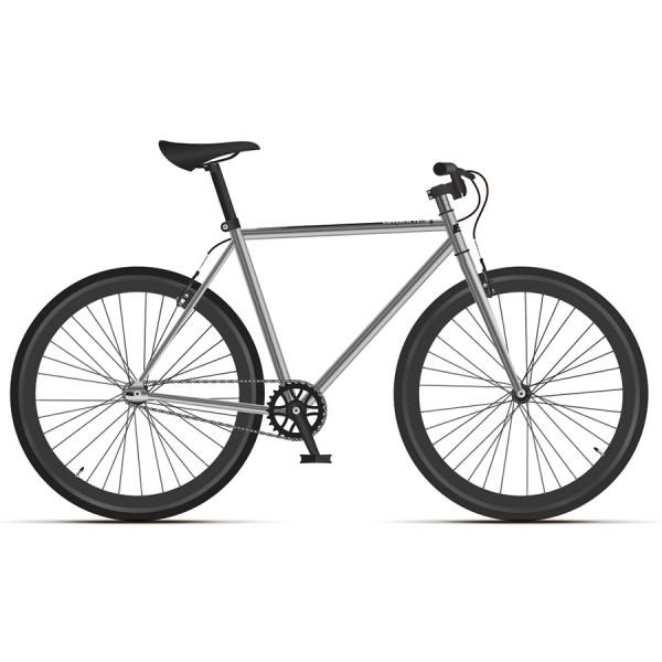 Black One Urban 700 серебристый/черный 2020-2021