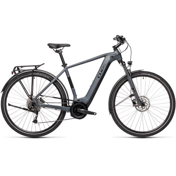 CUBE TOURING HYBRID ONE 400 (grey'n'black) 2021