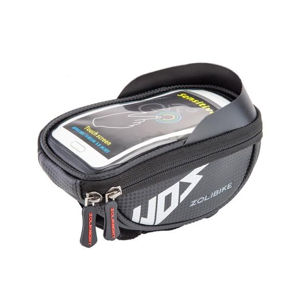 Велосумка на руль для ZL2109 смартфона 19,7х9,3х6,7 см/500047