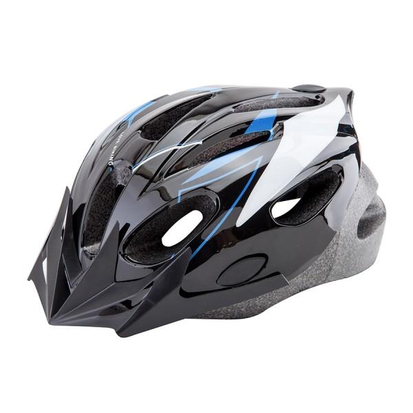 Шлем защитный MB-11 (out mold) сине-белый/600132