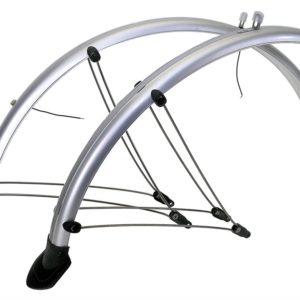 """Крылья комплект со светоотражающем покрытием для велосипедов 26"""""""