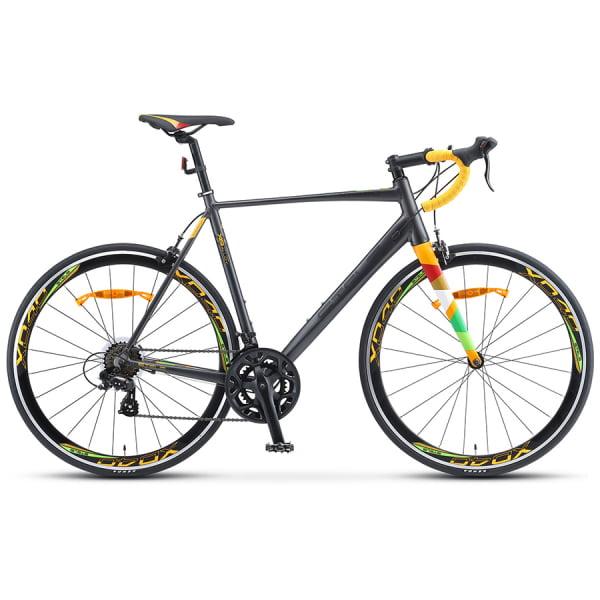 Велосипед Stels XT280 V010 Серый/Жёлтый 28 (LU093423)