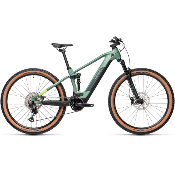 CUBE STEREO HYBRID 120 RACE 625 29 (green'n'sharpgreen) 2021
