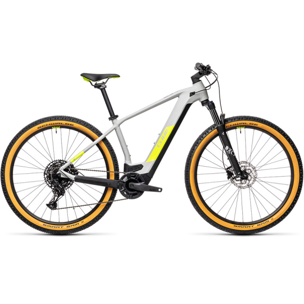 CUBE REACTION HYBRID PRO 500 29 (grey'n'yellow) 2021