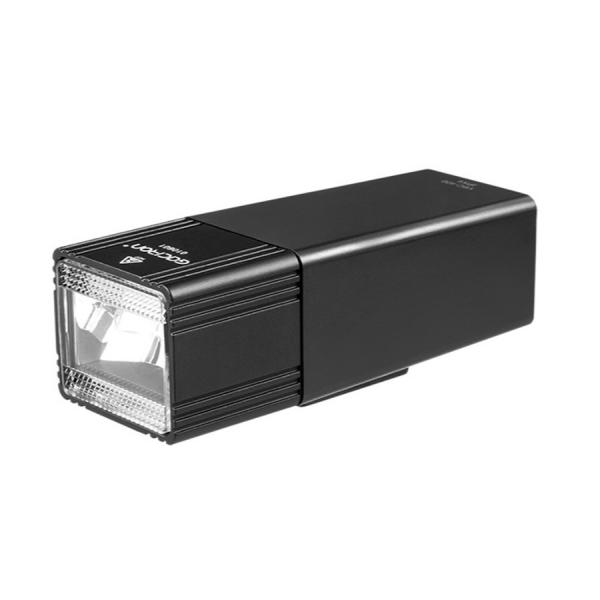 Фонарь задний GACIRON V6C-400 400lm,1диод,автореж.,Li-аккум,USB,креп. на руль, алюм., чёрн. 135гр