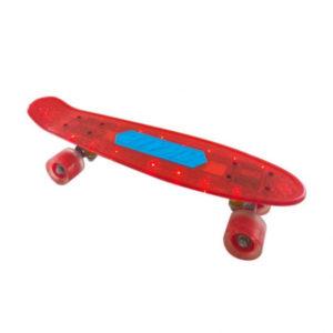 Скейт детский Navigator пластик, 56х15х11см, со свет.эффектами Т20014-15
