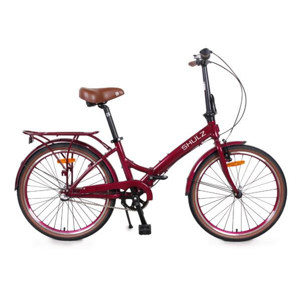 Складной велосипед Складной велосипед Shulz Krabi Coaster розового цвета от компании VelosipedLife